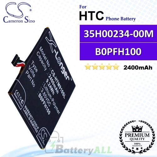 CS-HTM910SL For HTC Phone Battery Model 35H00234-00M / B0PFH100