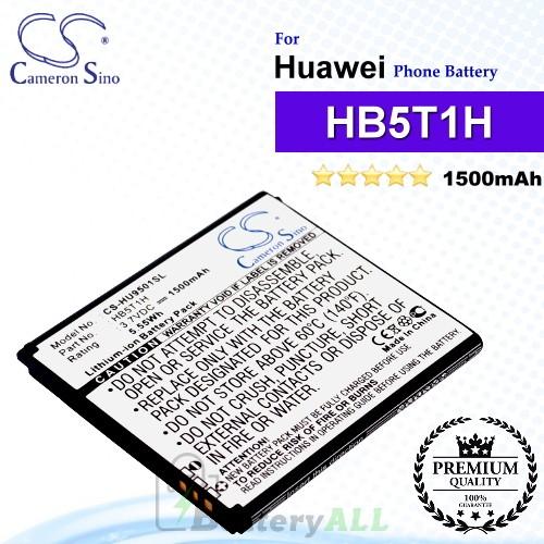 CS-HU9501SL For Huawei Phone Battery Model HB5T1H
