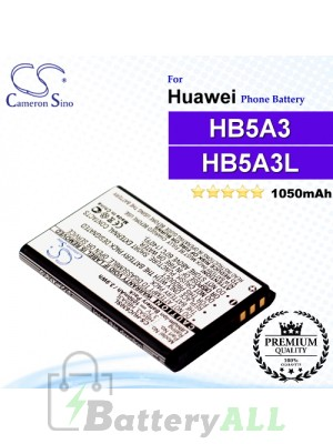 CS-HUC630SL For Huawei Phone Battery Model HB5A3 / HB5A3L