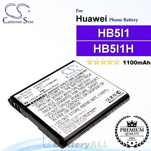 CS-HUC830SL For Huawei Phone Battery Model HB5I1 / HB5I1H
