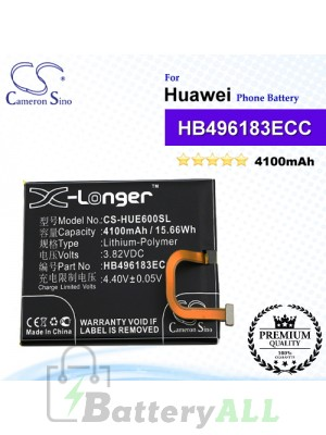 CS-HUE600SL For Huawei Phone Battery Model HB496183ECC
