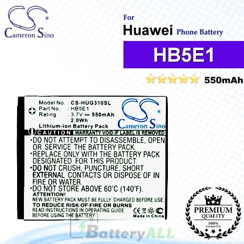 CS-HUG310SL For Huawei Phone Battery Model HB5E1