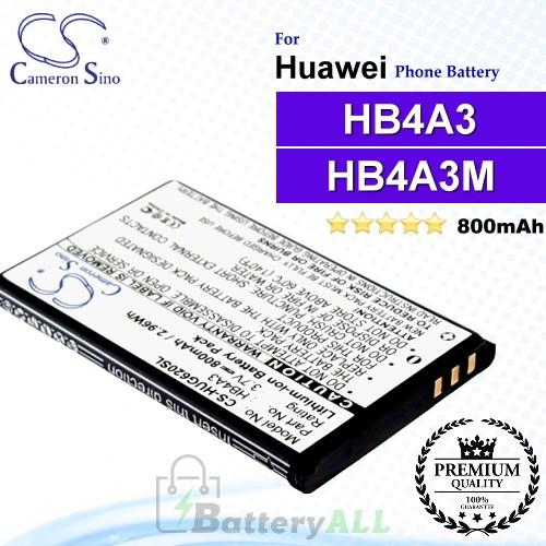 CS-HUG620SL For Huawei Phone Battery Model HB4A3 / HB4A3M