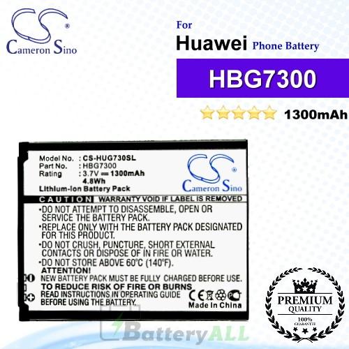CS-HUG730SL For Huawei Phone Battery Model HBG7300