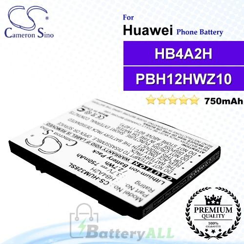 CS-HUM328SL For Huawei Phone Battery Model HB4A2H / PBH12HWZ10