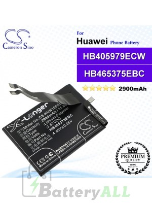 CS-HUN100SL For Huawei Phone Battery Model HB465375EBC