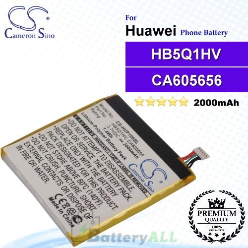 CS-HUP100SL For Huawei Phone Battery Model HB5Q1HV / CA605656