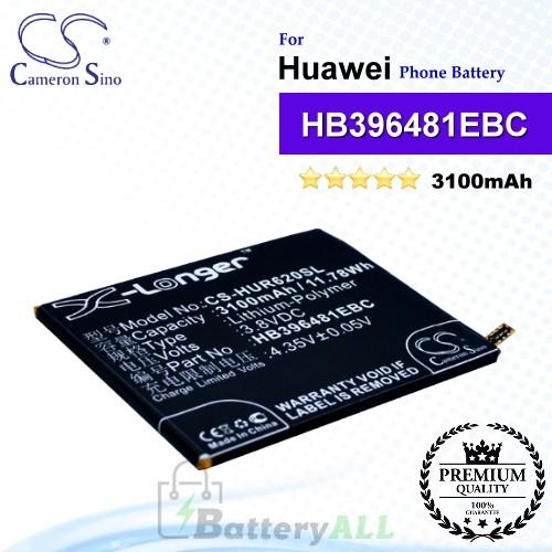 CS-HUR620SL For Huawei Phone Battery Model HB396481EBC