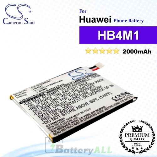 CS-HUS860SL For Huawei Phone Battery Model HB4M1