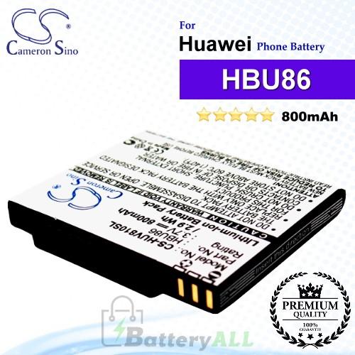 CS-HUV810SLFor Huawei Phone Battery Model HBU86