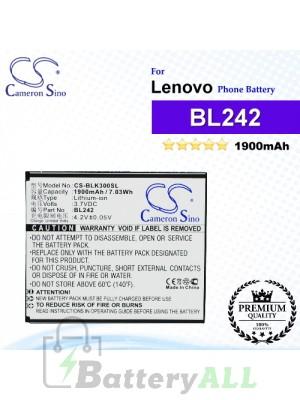 CS-BLK300SL For Lenovo Phone Battery Model BL242