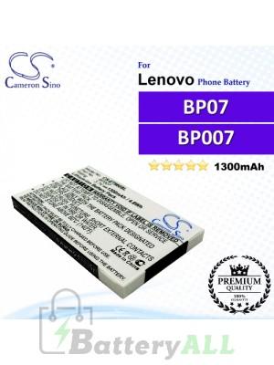 CS-ET960SL For Lenovo Phone Battery Model BP07