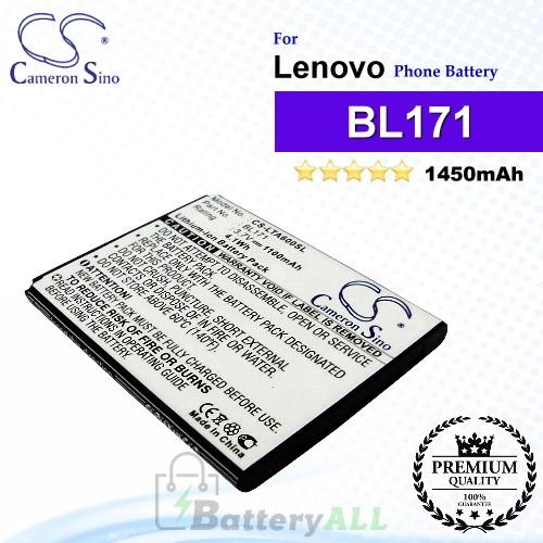CS-LTA600SL For Lenovo Phone Battery Model BL171