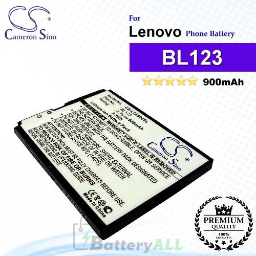 CS-LTA900SL For Lenovo Phone Battery Model BL123