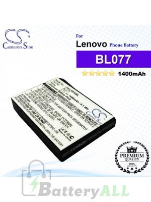 CS-LTI510SL For Lenovo Phone Battery Model BL077