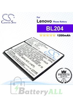 CS-LVA630SL For Lenovo Phone Battery Model BL204
