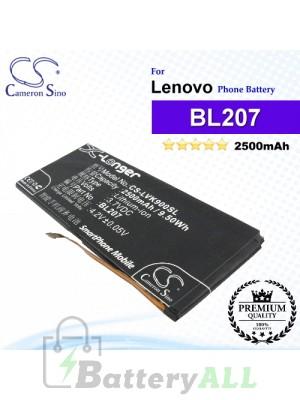 CS-LVK900SL For Lenovo Phone Battery Model BL207