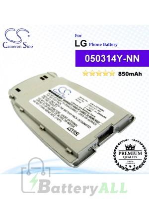 CS-LF2100SL For LG Phone Battery Model 050314Y-NN
