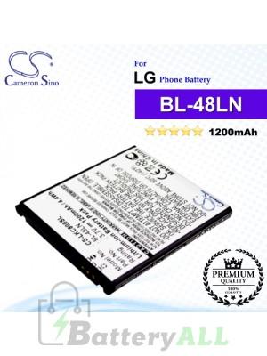 CS-LKC800SL For LG Phone Battery Model BL-48LN