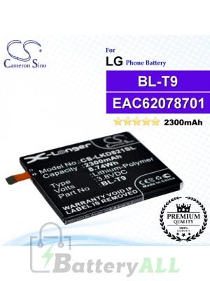 CS-LKD821SL For LG / Google Phone Battery Model BL-T9 / EAC62078701