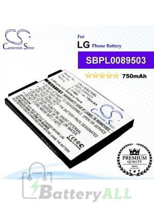 CS-LKG270SL For LG Phone Battery Model SBPL0089503