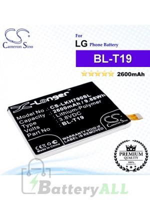 CS-LKH790SL For LG / Google Phone Battery Model BL-T19