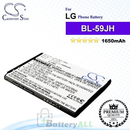 CS-LKP710SL For LG Phone Battery Model BL-59JH / EAC61998401 / EAC61998402