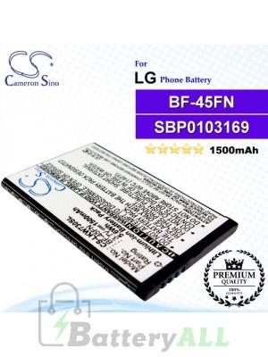 CS-LKW730SL For LG Phone Battery Model BF-45FN