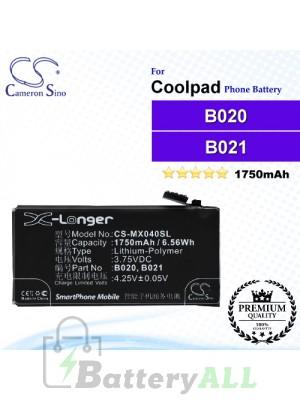 CS-MX040SL - Meizu Phone Battery Model B020 / B021
