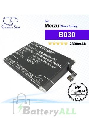 CS-MX351SL - Meizu Phone Battery Model B030