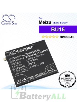 CS-MX682XL - Meizu Phone Battery Model BU15