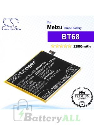 CS-MX688SL - Meizu Phone Battery Model BT68