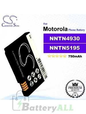 CS-MOI830SL For Motorola Phone Battery Model NNTN4930