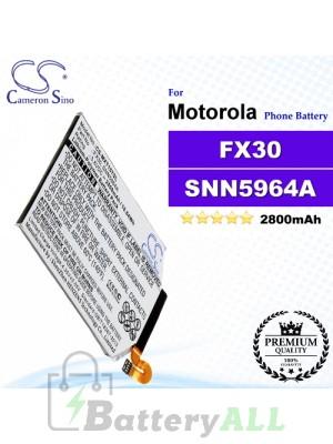 CS-MXT157SL For Motorola Phone Battery Model FX30 / SNN5964A