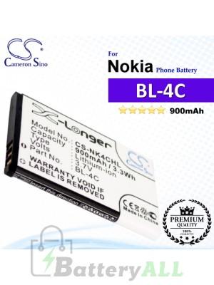 CS-NK4CHL For Nokia Phone Battery Model BL-4C