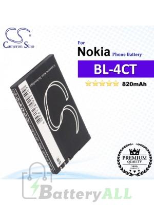 CS-NK4TSL For Nokia Phone Battery Model BL-4CT
