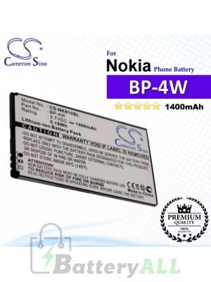 CS-NK810SL For Nokia Phone Battery Model BP-4W