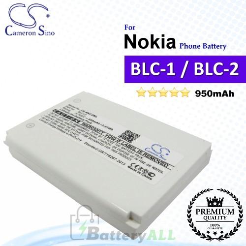 CS-NKC2ML For Nokia Phone Battery Model BLC-1 / BLC-2