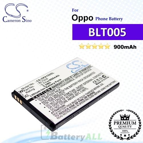 CS-OPA100SL For Oppo Phone Battery Model BLT005