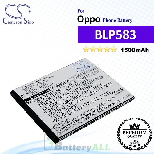 CS-OPF700SL For Oppo Phone Battery Model BLP583
