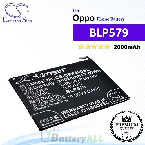 CS-OPR500SL For Oppo Phone Battery Model BLP579
