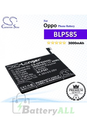 CS-OPR660SL For Oppo Phone Battery Model BLP585