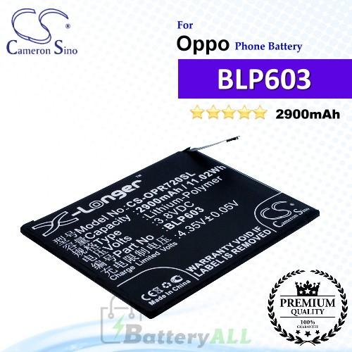 CS-OPR720SL For Oppo Phone Battery Model BLP603