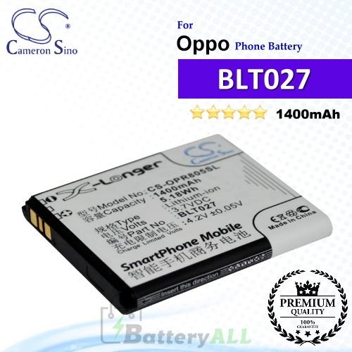 CS-OPR805SL For Oppo Phone Battery Model BLT027