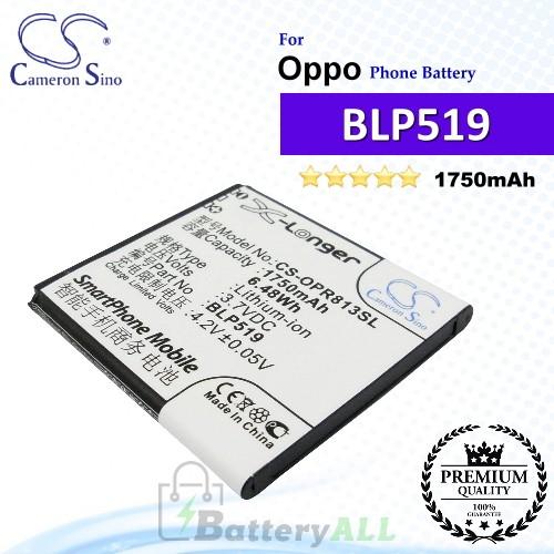 CS-OPR813SL For Oppo Phone Battery Model BLP519