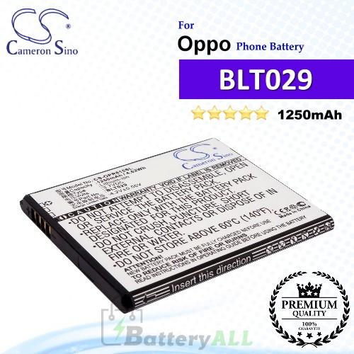 CS-OPR815SL For Oppo Phone Battery Model BLT029