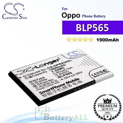 CS-OPR830SL For Oppo Phone Battery Model BLP565
