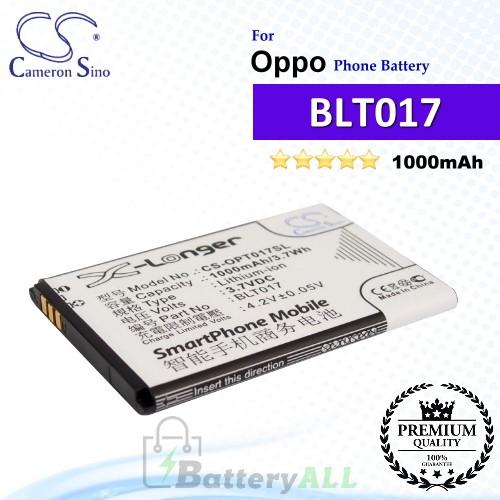 CS-OPT017SL For Oppo Phone Battery Model BLT017
