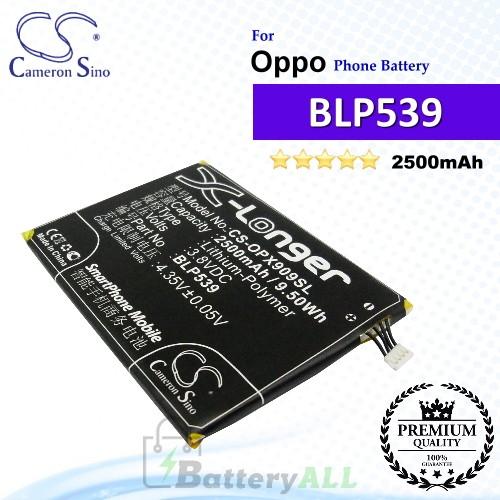 CS-OPX909SL For Oppo Phone Battery Model BLP539