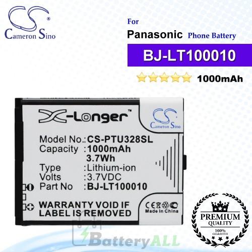 CS-PTU328SL For Panasonic Phone Battery Model BJ-LT100010